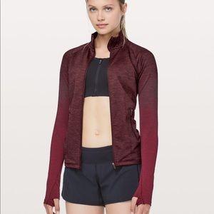 Lululemon ready to run jacket red 6